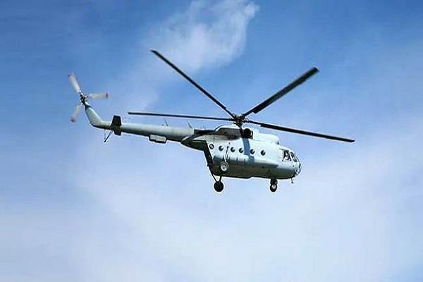 उद्दारका लागि गएको हेलिकप्टर दुर्घटना हुँदा तीनको मृत्यु