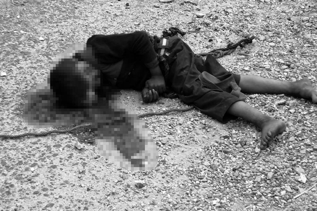 शिवरात्रीमा डोरी टाँगेर पैसा माग्दै गरेका बालकलाई बसले ठक्कर दिँदा घटनास्थलमै मृत्यु