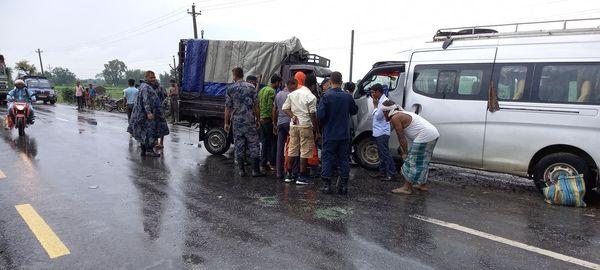 सुनसरीमा डरलाग्दो दुर्घटना, ३ जनाको मृत्यु